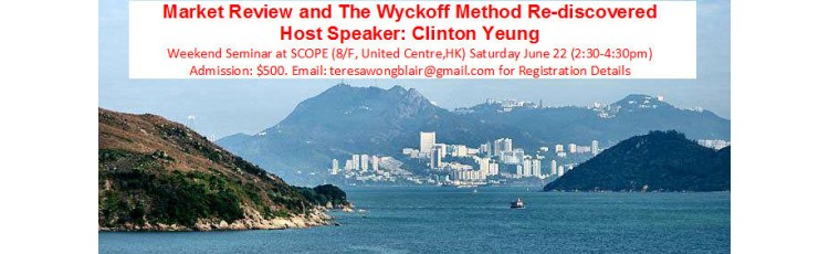 """Market Review and The Wyckoff Method Re-discovered"" with Clinton Yeung"