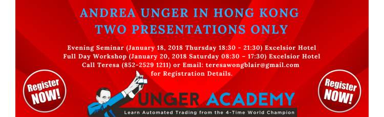 """The Man and The Machine"""" with Andrea Unger  Full Day Workshop – January 20, 2018"""